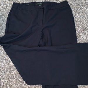 Talbots Navy Pants, Size 12